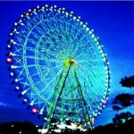 葛西臨海公園のカウントダウンイベントは観覧車が特別な色にライトアップされパーティームードで過ごせます!